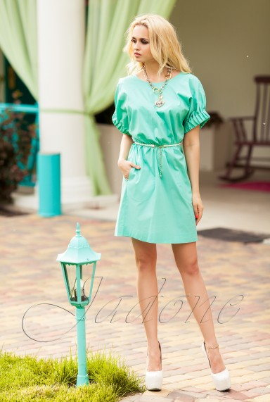 Платье Лючи бирюзовый