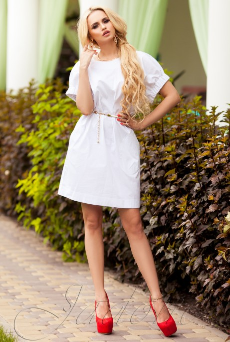 Платье Лючи белый