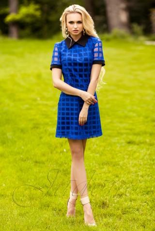 Платье Блюмарин электрик