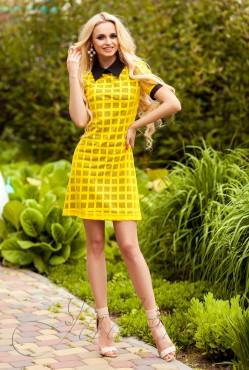 Платье Блюмарин yellow