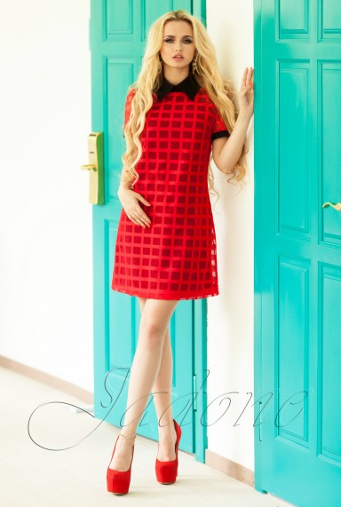 Платье Блюмарин красный