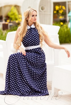 Платье Мадрид blue