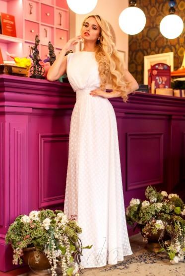 Платье Пауло milk