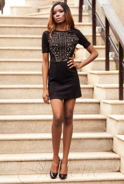 Louise Dress black