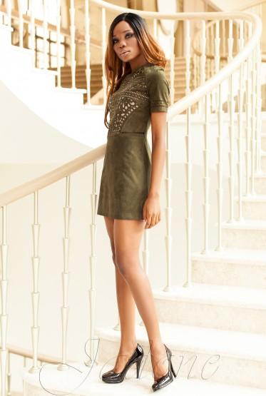 Платье Луиза хаки