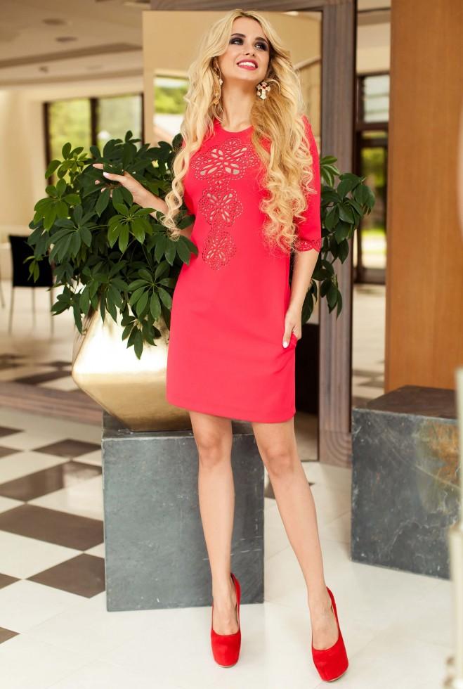 Туника-платье Алания_1 красный