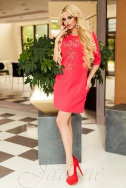 Tunic dress-Alania red