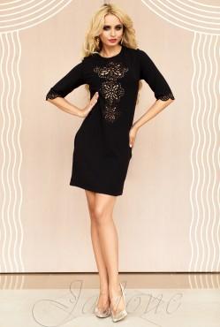 Tunic dress-Alania black