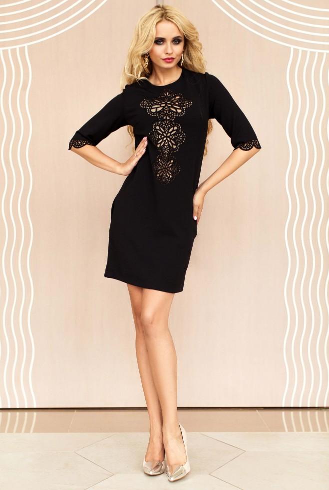 Туника-платье Алания_1 черный