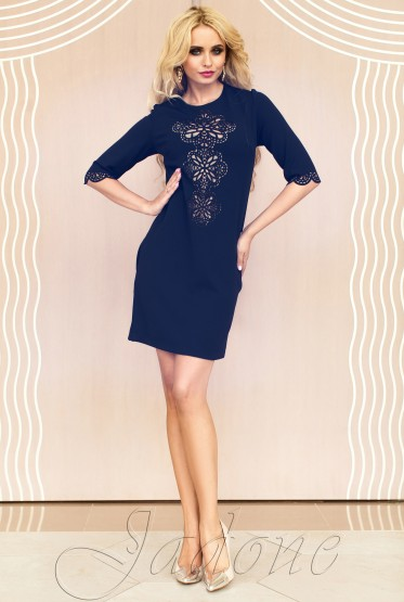 Туника-платье Алания тёмно-синий