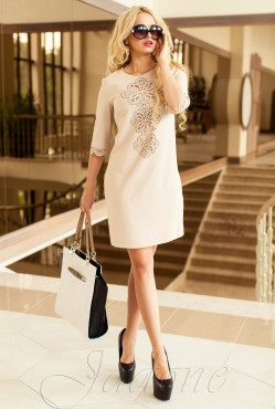 Tunic dress-Alania beige