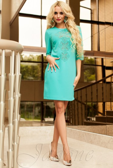 Tunic dress-Alania turquoise