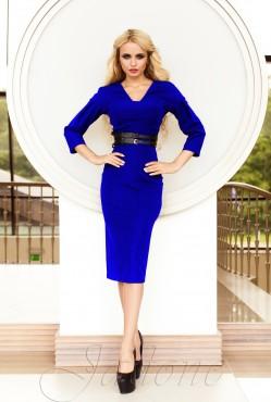 Sabrina Dress Electric