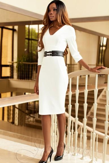Платье Сабрина белый