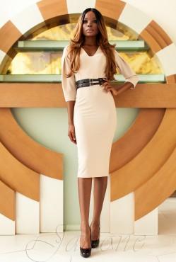 Sabrina Dress beige