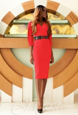 Sabrina Dress red