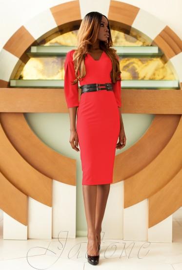Платье Сабрина красный