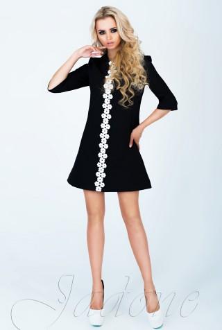 Платье Офелия  черный