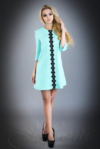 Платье Офелия  бирюзовый