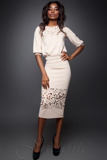 Suit Caroline beige