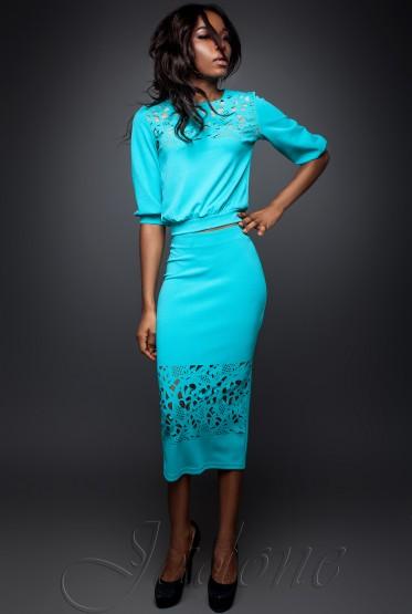 Suit Caroline turquoise