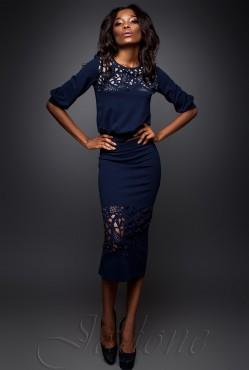 Suit Caroline dark blue