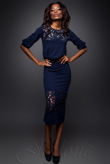 Suit Caroline dark blue