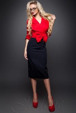 Dora Dress red