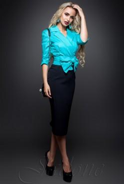 Dora Dress turquoise