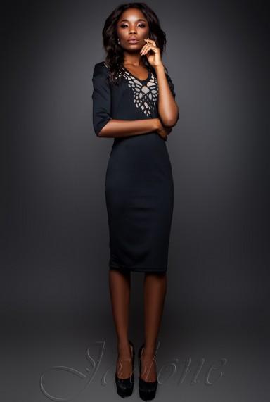 Платье Виола  черный
