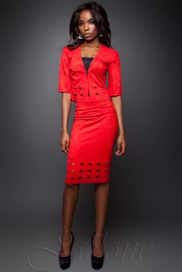 Suit Grace red