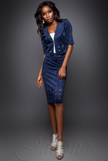 Suit Grace dark blue