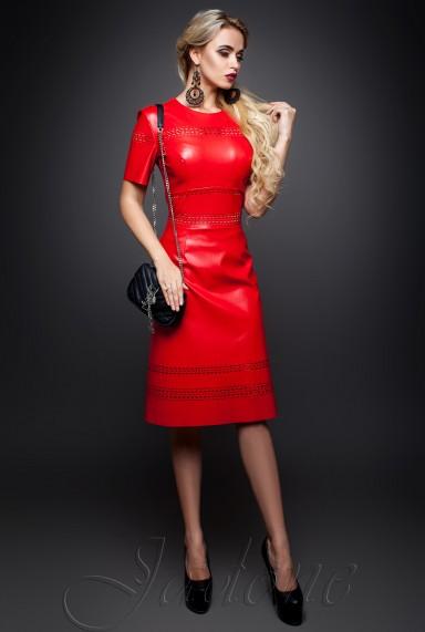 Платье Перри  красный
