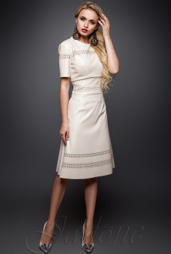 Perry Dress beige