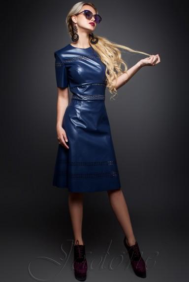 Платье Перри  тёмно-синий