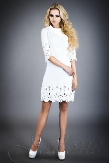 Платье - туника Лорин  молочный