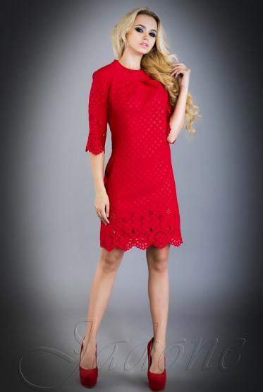 Loren Dress red