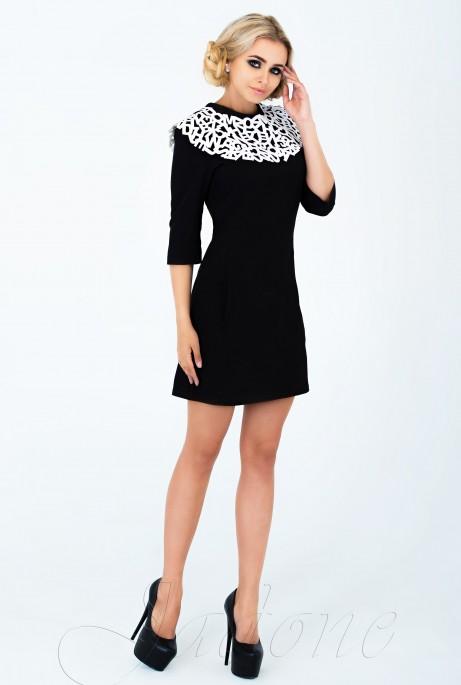 Платье Парма черный