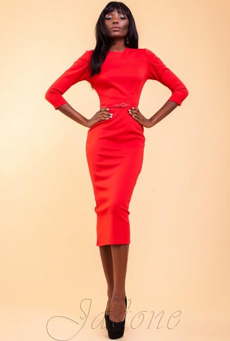 Платье Магикан красный