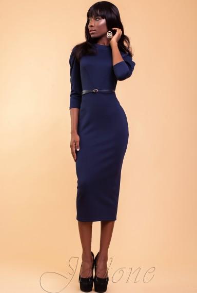 Платье Магикан тёмно-синий