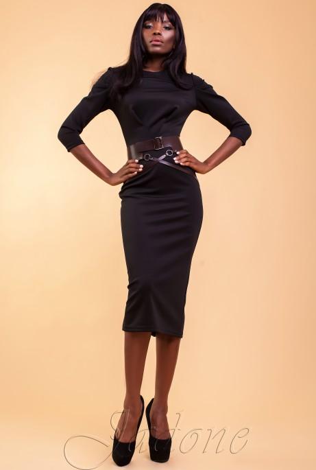 Платье Магикан черный
