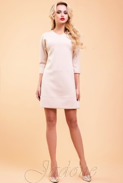 Tunic dress Schally beige