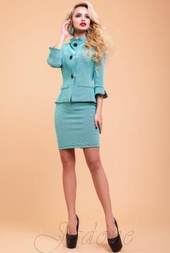 Alex Suit turquoise