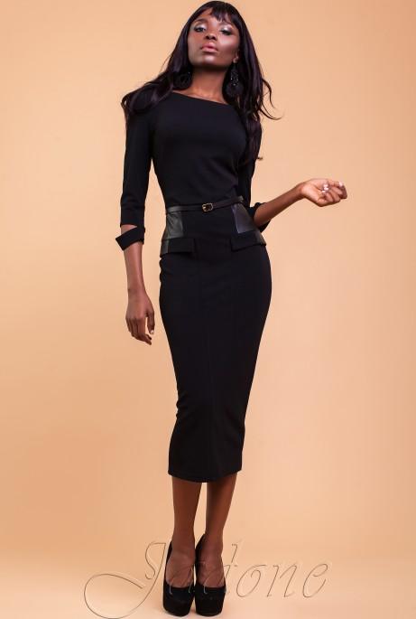 Платье Ненси черный