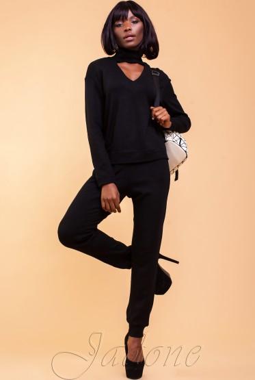 Flora Suit black