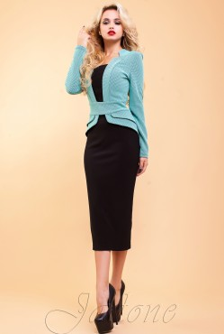Dress Neher turquoise