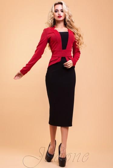 Платье Неери красный