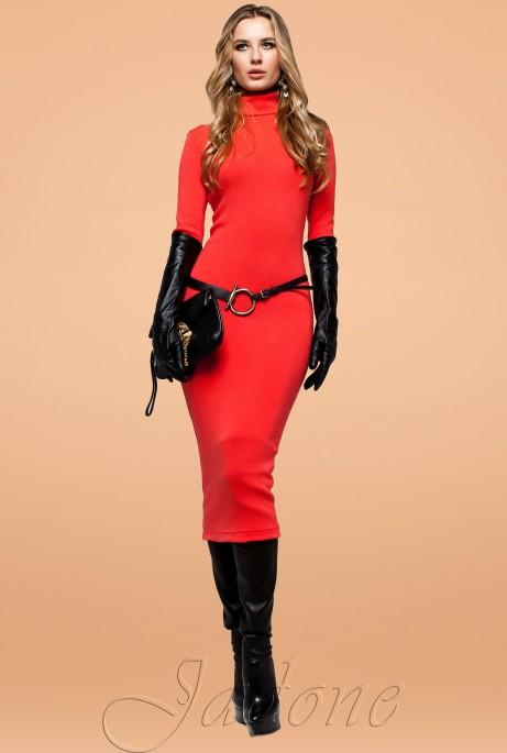 Платье Шик красный