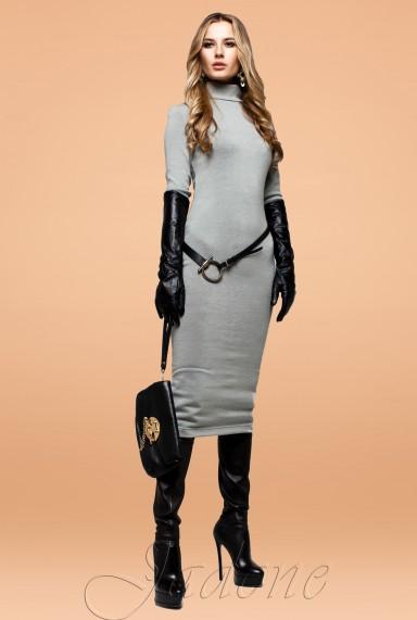 Платье Шик серый