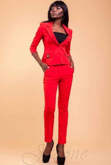 Terry Suit V2 red